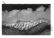 2d07509-bw High Peaks In Lost River Range Carry-all Pouch