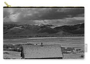 2d07515-bw Abandoned Cabin Carry-all Pouch