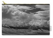 2d07517-bw Storm Over Lost River Range Carry-all Pouch
