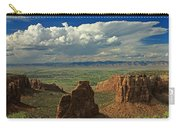 2d10338 Thunderhead Over Independence Monument Carry-all Pouch