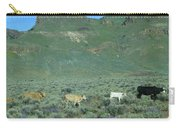 2da5946-dc Cattle On Steens Mountain Carry-all Pouch