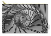 2x1 Abstract 434 Bw Carry-all Pouch