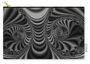 2x1 Abstract 435 Bw Carry-all Pouch