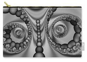 2x1 Abstract 438 Bw Carry-all Pouch