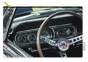 1966 Ford Mustang Cobra Steering Wheel Carry-all Pouch