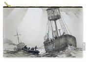 A Lightship's Xmas Dinner Carry-all Pouch