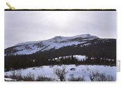A Snowy Desert Mountain Scene Above Twin Lakes Along The Trail To Monument Ridge In The Eastern Sier Carry-all Pouch