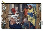 Adoration Of Magi Carry-all Pouch