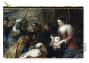Adoration Of The Magi Carry-all Pouch by Granger