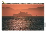 Alcatraz Island Prison San Francisco Bay At Sunset Carry-all Pouch