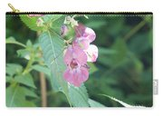 Alpine Wildflower Carry-all Pouch