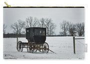 Amish Buggy Near Shipshe Carry-all Pouch