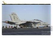 An Fa-18f Super Hornet Ready To Launch Carry-all Pouch