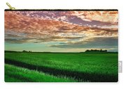An Iowa Sunset Carry-all Pouch