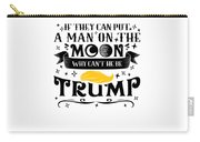 Anti Trump Impeach The President Vote For Dems Light Carry-all Pouch