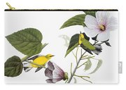 Audubon: Warbler, (1827-38) Carry-all Pouch by Granger