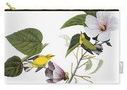 Audubon: Warbler, (1827-38) Carry-all Pouch