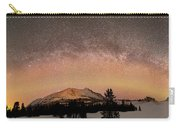 Aurora Borealis And Milky Way Carry-all Pouch