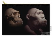 Australopithecus With Skull Carry-all Pouch