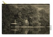 Autumn Lake Boathouse Carry-all Pouch