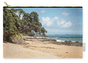 Beach In New Zealand Carry-all Pouch