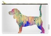 Beagle-colorful Carry-all Pouch