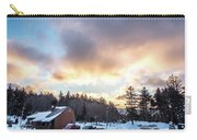 Beautiful Sunrise Over Horizon On Snowshoe Mountain West Virgini Carry-all Pouch