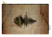 Believe Recorded Soundwave Collection Carry-all Pouch