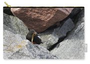 Black Guillemot Carry-all Pouch