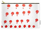 Blood Droplet Carry-all Pouch