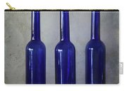 3 Blue Bottles Carry-all Pouch