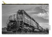 Blue Freight Train Engine At Sunrise  Carry-all Pouch