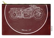 Bmw R32 1923 - For Some There's Therapy, For The Rest Of Us There's Motorcycles Carry-all Pouch
