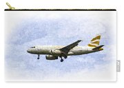 British Airways A319 Feather Design Art Carry-all Pouch