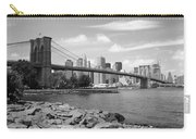 Brooklyn Bridge - New York City Skyline Carry-all Pouch
