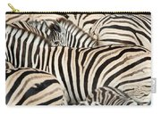 Burchells Zebras Equus Quagga Carry-all Pouch