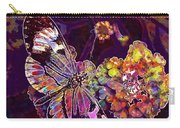 Butterfly Macro Pose Plant Green  Carry-all Pouch