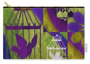 3 Caged Birds Carry-all Pouch