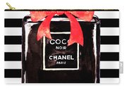 Chanel Noir Perfume Carry-all Pouch