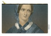 Charlotte Bronte, English Author Carry-all Pouch