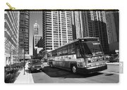 Chicago Bus And Buildings Carry-all Pouch