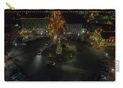 Christmas Lights, Looking West Carry-all Pouch