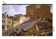 3 Christoffer Wilhelm Eckersberg     The Marble Steps Leading Up To Santa Maria In Aracoeli In Rome Carry-all Pouch