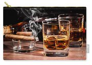 Cigar And Alcohol Collection Carry-all Pouch
