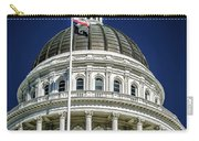 City Views Around California State Capitol Building In Sacrament Carry-all Pouch