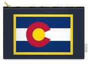 Colorado Flag Carry-all Pouch