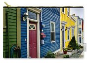Colorful Houses In St. John's Carry-all Pouch