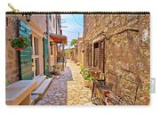 Colorful Mediterranean Stone Street Of Prvic Island Carry-all Pouch