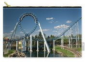 Cork-screw Rollercoaster And Ferris-wheel Carry-all Pouch