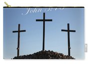 3 Crosses Carry-all Pouch